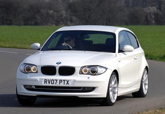 Pictures of BMW 120d 3-door UK-spec (E81) 2008–11