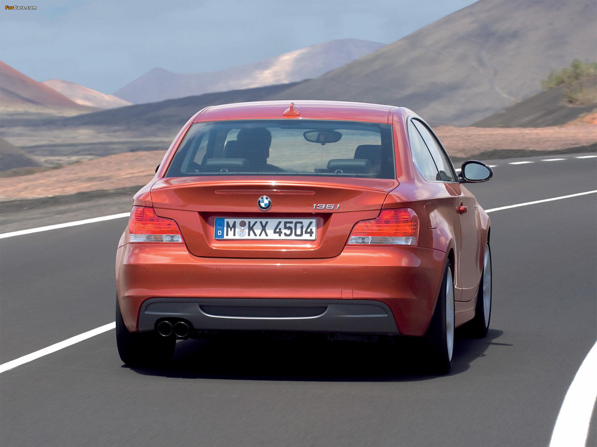 Bmw 135i coupe rear aride бесплатно
