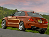 Pictures of BMW 1 Series M Coupe US-spec (E82) 2011