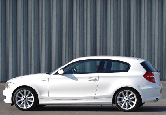 BMW 120d 3-door UK-spec (E81) 2008–11 wallpapers
