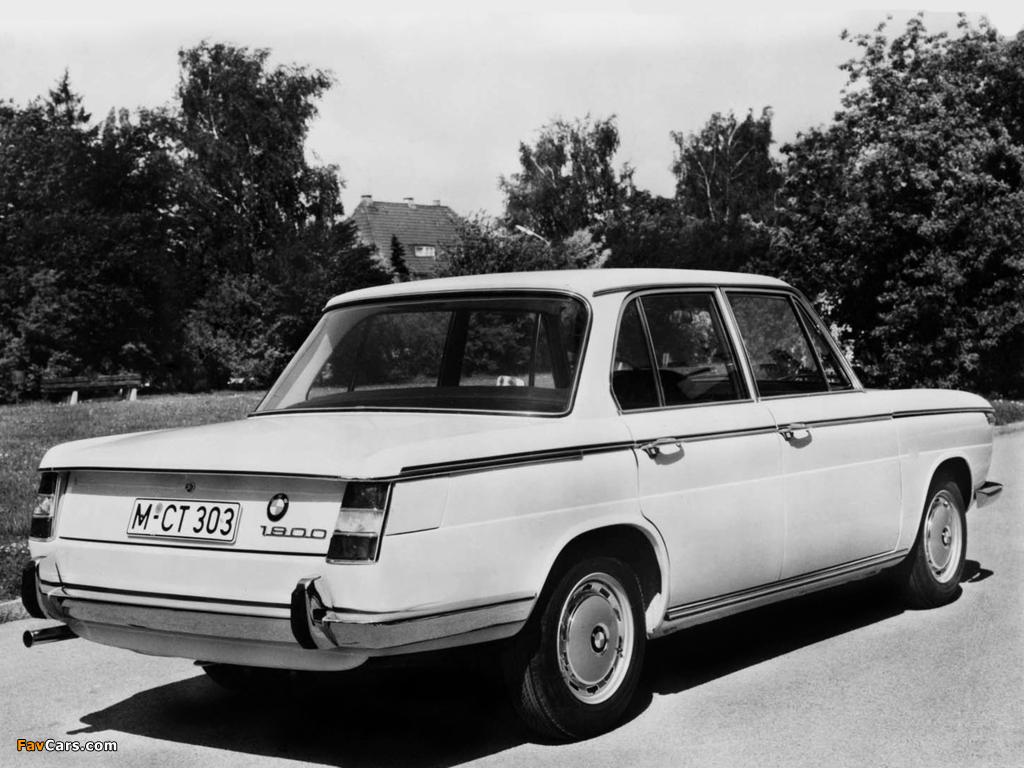 BMW 1800 1964–71 images (1024 x 768)