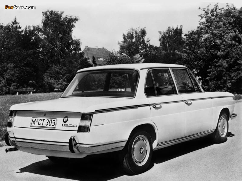 BMW 1800 1964–71 images (800 x 600)