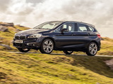 BMW 218d Active Tourer Luxury Line UK-spec (F45) 2014 images