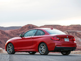 BMW M235i Coupé US-spec (F22) 2014 photos