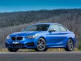 BMW M235i Coupé AU-spec (F22) 2014 pictures
