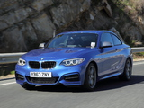 BMW M235i Coupé UK-spec (F22) 2014 wallpapers