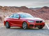 BMW M235i Coupé US-spec (F22) 2014 wallpapers