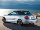 Photos of BMW 228i Cabrio Sport Line (F23) 2014