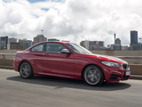 Photos of BMW M235i Coupé ZA-spec (F22) 2014