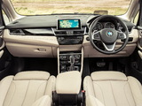 Photos of BMW 218d Active Tourer Luxury Line UK-spec (F45) 2014