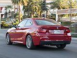 Pictures of BMW M235i Coupé US-spec (F22) 2014