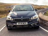 Pictures of BMW 218d Active Tourer Luxury Line UK-spec (F45) 2014