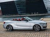 Pictures of BMW 228i Cabrio Sport Line (F23) 2014
