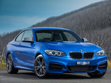 Wallpapers of BMW M235i Coupé AU-spec (F22) 2014