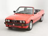 BMW 318i Cabrio UK-spec (E30) 1990–93 images