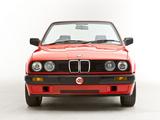 BMW 318i Cabrio UK-spec (E30) 1990–93 photos