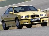 BMW M3 Coupe (E36) 1992–98 photos