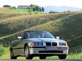 BMW 325i Cabrio (E36) 1993–95 wallpapers