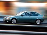 BMW 318tds Compact (E36) 1994–2000 photos