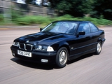 BMW 328i Coupe UK-spec (E36) 1995–99 photos