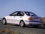 BMW 320d Sedan (E46) 1998–2001 pictures