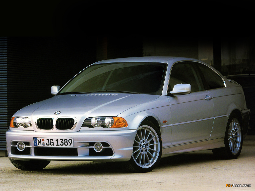 BMW 323Ci Coupe (E46) 1999–2000 wallpapers (1024x768)