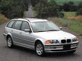 BMW 325Xi Touring US-spec (E46) 2000–01 photos