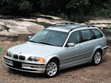 BMW 325Xi Touring US-spec (E46) 2000–01 pictures