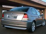 BMW 325ti Compact ZA-spec (E46) 2001–05 images