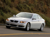BMW 328i Coupe US-spec (E92) 2006–10 images