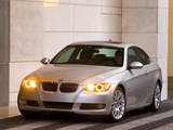 BMW 328i Coupe US-spec (E92) 2006–10 wallpapers