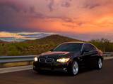 BMW 335i Coupe US-spec (E92) 2007–10 images