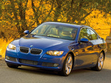 BMW 335i Coupe US-spec (E92) 2007–10 photos