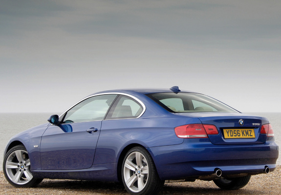 bmw 335i coupe uk spec e92 2007 10 wallpapers