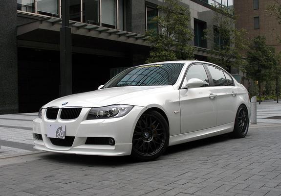 3D Design BMW 3 Series Sedan (E90) 2007–08 wallpapers