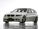 WALD BMW 320i Touring Sports Line Aero Kit (E91) 2008–12 images