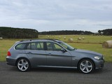 BMW 335i Touring AU-spec (E91) 2008–12 images