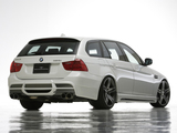 WALD BMW 320i Touring Sports Line Aero Kit (E91) 2008–12 photos