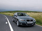BMW 320d Sedan UK-spec (E90) 2008–11 photos