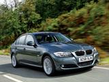 BMW 320d Sedan UK-spec (E90) 2008–11 pictures
