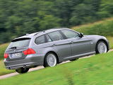 BMW 335d Touring (E91) 2008–12 pictures