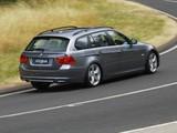 BMW 335i Touring AU-spec (E91) 2008–12 pictures
