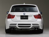 WALD BMW 320i Touring Sports Line Aero Kit (E91) 2008–12 wallpapers