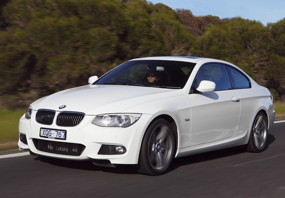 bmw 335i coupe m sports package au spec e92 2010 wallpapers