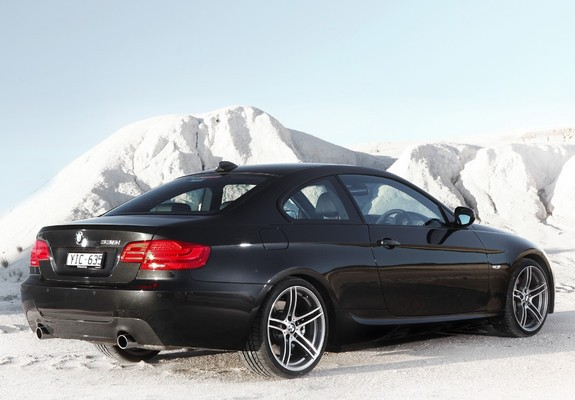 bmw 335i coupe m sports package au spec e92 2010 wallpapers. Black Bedroom Furniture Sets. Home Design Ideas