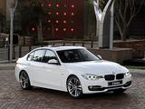 BMW 328i Sedan Sport Line ZA-spec (F30) 2012 images