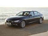 BMW 335i Sedan Luxury Line UK-spec (F30) 2012 pictures