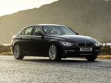 BMW 335i Sedan Luxury Line UK-spec (F30) 2012 wallpapers