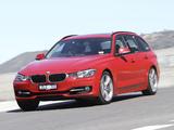 BMW 320i Touring Sport Line AU-spec (F31) 2013 pictures