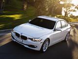 BMW 320i Sedan US-spec (F30) 2013 wallpapers